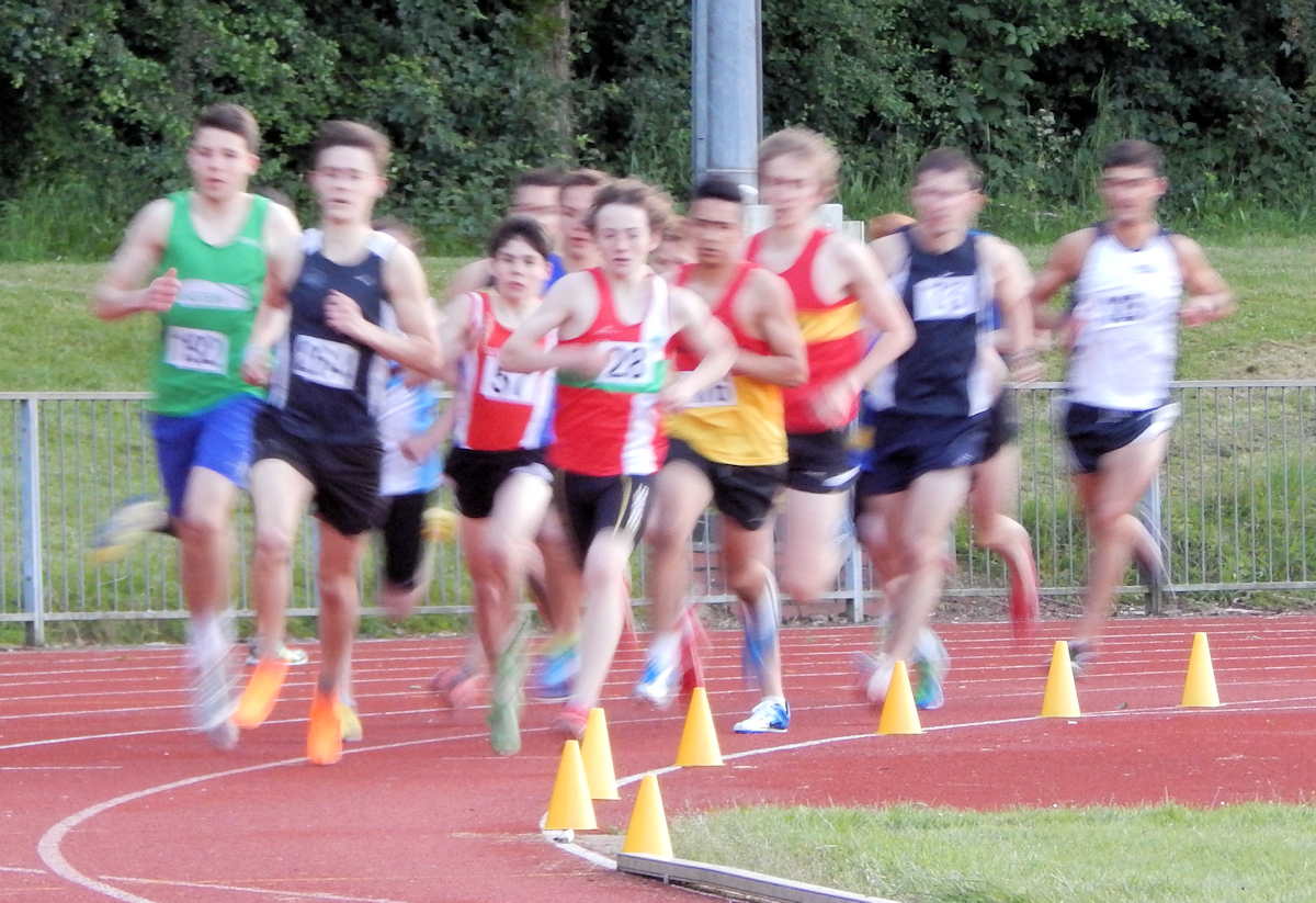 Pushing the Pace from the front - Watford Open 4th June 2014