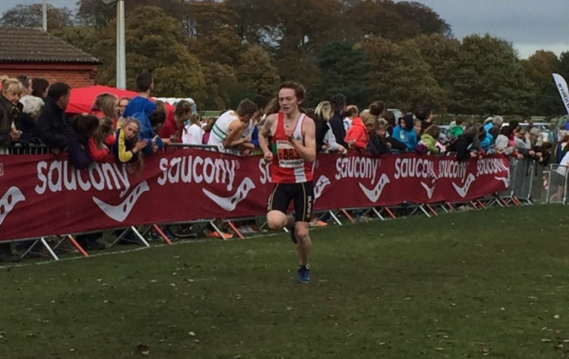 A respectable 6th place finish in the National XC Relays.